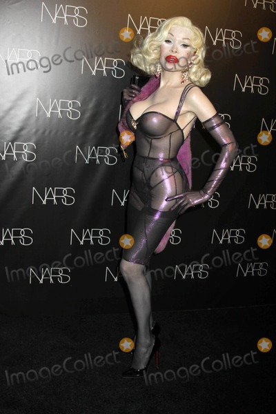 """Amanda Lepore, Francois Nars Photo - Nars Cosmetics Exclusive Launch Event For """"Make Up Your Mind: Express Yourself"""", the New Book by Francois narscedar Lake Studios, nycmay 24, 2011photos by Sonia Moskowitz, Globe Photos Inc 2011amanda Lepore"""