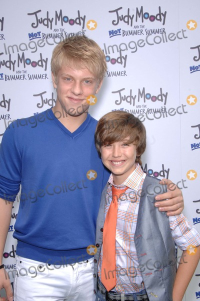 Garrett Ryan, Jackson Odell Photo - Jackson Odell and Garrett Ryan During the Premiere of the New Movie From Relativity Media Judy Moody and the Not Bummer Summer, Held at the Arclight Hollywood Cinemas, on June 4, 2011, in Los angeles.