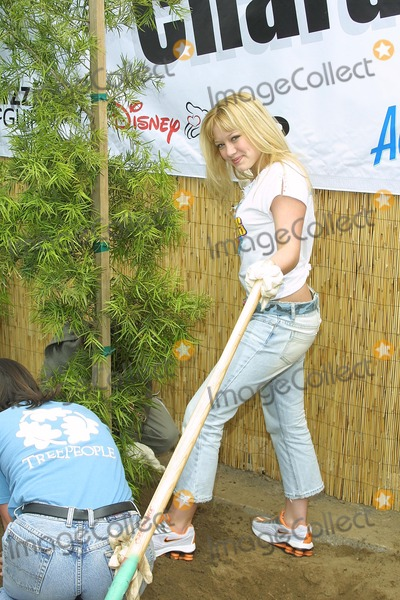 "Hilary Duff Photo - Sd0427 ""Cast of Lizzie Mcguire Refurbish Grounds of Boys & Girls Club of Burnank"" the Boys & Girls Club of America. Burbank, CA. Hilary Duff Photo: Tom Rodriiguez / Globe Photos Inc. (C)"