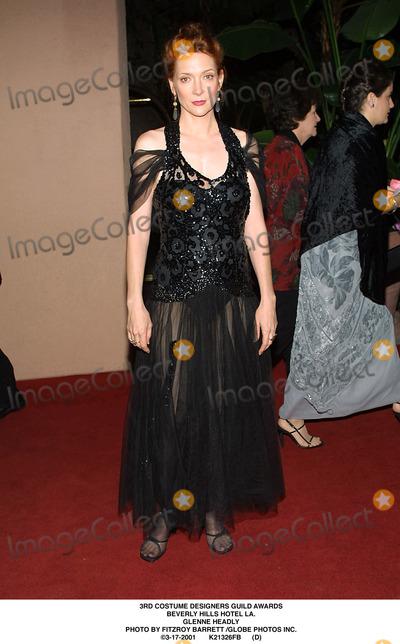 Glenne Headly, GLENN HEADLY Photo - Costume Designers Guild Awards Beverly Hills Hotel LA. Glenne Headly Photo by Fitzroy Barrett /Globe Photos Inc. 3-17-2001 K21326fb (D)