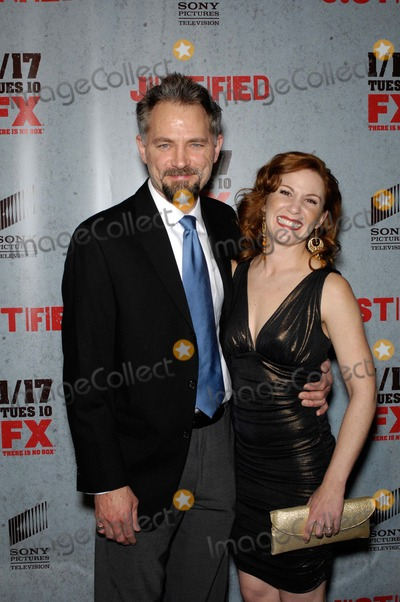 Faline England Photo - David Meunier and Faline England During the Premiere of Fx Networks Justified Season 3, Held at the Directors Guild of America Theatre, on January 10, 2012, in Los Angeles. Photo: Michael Germana - Globe Photos, Inc.