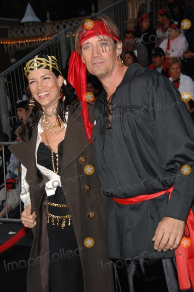 Kevin Sorbo, Walt Disney Photo - Sam Jenkins and Kevin Sorbo During the Premiere of the New Movie From Walt Disney Pictures Pirates of the Caribbean: on Stranger Tides, Held at Disneyland, on May 7, 2011, in Anaheim, california.