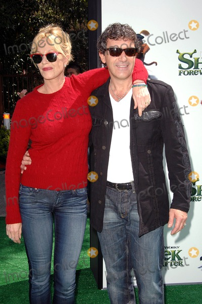 "Melanie Griffith, Antonio Banderas, Melanie Griffiths Photo - Melanie Griffith, Antonio Banderas attending the Los Angeles Premiere of ""Shrek Forever After"" Held at Universal Studios in Universal City, CA. 05-16-10 Photo by: D. Long- Globe Photos Inc. 2010"