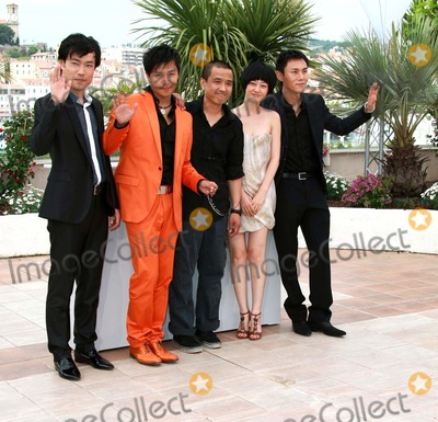 """Chen Sicheng, Lou Ye, Qin Hao, Tan Zhuo, YES Photo - Wu Wei, Chen Sicheng, Lou Ye, Tan Zhuo & Qin Hao Actors & Director """"Spring Fever"""" Photo Call at the 2009 Cannes Film Festival at Palais Des Festival Cannes, France 05-14-2009 Photo by David Gadd Allstar--Globe Photos, Inc. 2009"""