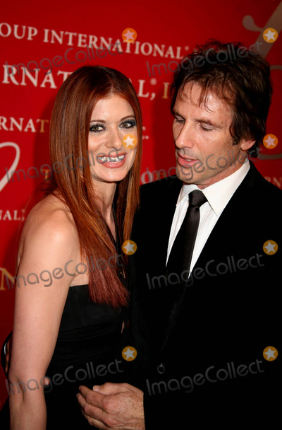 "Debra Messing, Alchemist Photo - The Fashion Group International Presents the 25th Annual Night of Stars Honoring ""the Alchemists"" Cipriani Wall St, NYC October 23, 08 Photos by Sonia Moskowitz, Globe Photos Inc 2008 Debra Messing and Husband"