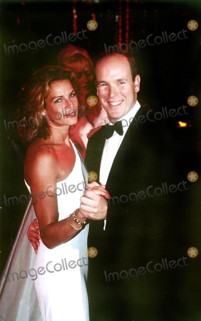 Princess Stephanie, Albert de Monaco Photo - Princess Stephanie_albert DE Monaco Photo by Mac Innes /Imapress / Globe Photos,inc. Sd09/08/1996.