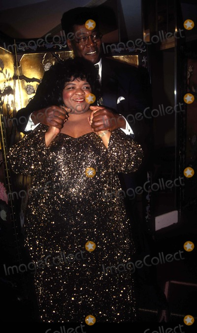 Clarence Clemons, Nell Carter Photo - 10/25/1993           New yorknational Hero awardnell Carter and Clarence clemonsphoto by Mitchell levy/rangefinder/globe Photos inc1993l6837mlnellcarterretro