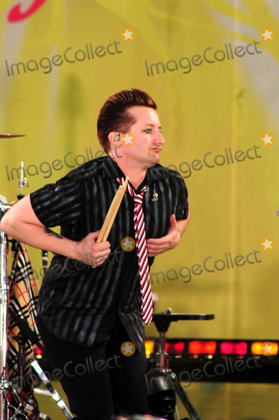 Tre Cool, Green Day Photo - Green Day Performs on Abc's Good Morning America Concert Series Central Park, New York City 05-22-2009 Photo by Ken Babolcsay-ipol-Globe Photos Tree Cool