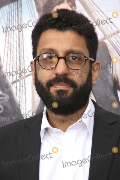"""Adeel Akhtar Photo - Adeel Akhtar attends the Red Carpet Arrivals For the Premiere of """"Pan"""" the Ziegfeld Theater, NYC October 4, 2015 Photos by Sonia Moskowitz. Globe Photos Inc"""