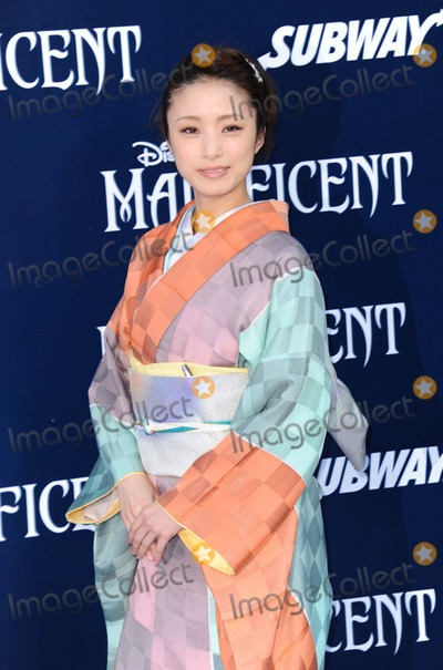 """Aya, Aya Ueto Photo - Aya Ueto attending the Los Angeles Premiere of """"Maleficent"""" Held at the El Capitan Theatre in Hollywood, California on May 28, 2014 Photo by: D. Long- Globe Photos Inc."""