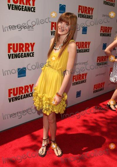 Bella Thorne Photo - Bella Thorne Actress K64625alst 'Furry Vengeance' Los Angeles Premiere Bruin Theatre, Westwood, CA 04-18-2010 Photo by Graham Whitby Boot-allstar-Globe Phtos, Inc.