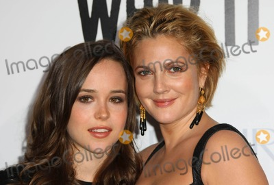 Drew Barrymore, Ellen Page, Grauman's Chinese Theatre Photo - Ellen Page, Drew Barrymore Actors the Premiere of the New Movie From Fox Searchlight Pictures Whip It, Held at Grauman's Chinese Theatre in Los Angeles, California 09-29-2009 Photo by Graham Whitby Boot-allstar-Globe Photos, Inc.