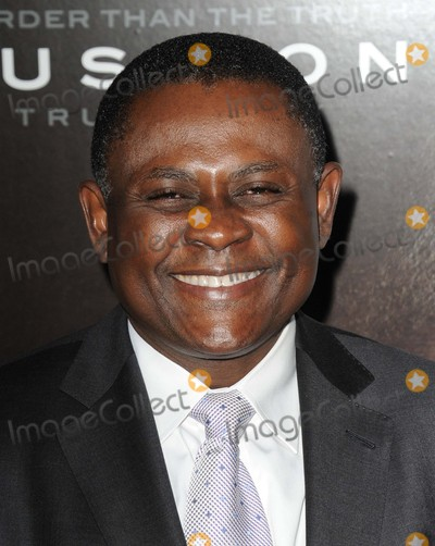 "Bennet Omalu Photo - Bennet Omalu attending the Los Angeles Premiere of ""Concussion"" Held at the Regency Village Theater in Westwood, California on November 23, 2015 Photo by: David Longendyke-Globe Photos Inc."