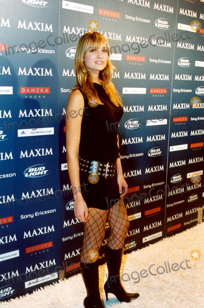 Michelle Branch, Amber Arbucci Photo - Maxim Sno Magazine Party Hosted by January Cover Girl Michelle Branch in New York City 12/10/2003 Photo By:ken Rumments/Globe Photos Inc 2003 Amber Arbucci