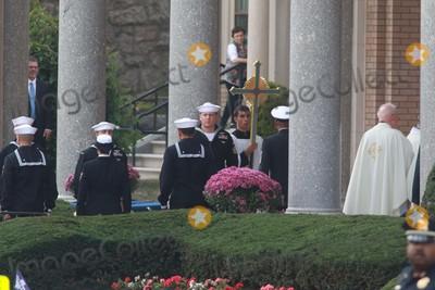"Yogi Berra, ""Yogi"" Berra Photo - Funeral Services at Yogi Berra Funeral Services at the Church of the Immception Montclair New Jersey John Barrett/Globe Photos"