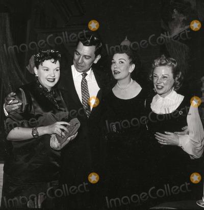 Jack Webb, Jane Wyman, Judy Garland, June Allyson Photo - Judy Garland, Jack Webb, Jane Wyman, June Allyson Photo: Nate Cutler/Globe Photos Inc