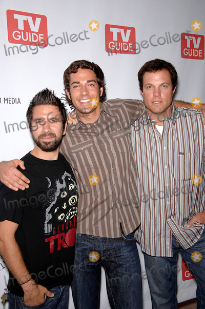 Adam Baldwin, Gomez, Joshua Gomez, Zachary Levi Photo - Joshua Gomez, Zachary Levi and Adam Baldwin during The Paley Center and TV Guide's public preview of Fall 2008 television shows from NBC network, held at the The Paley Center for Media, on September 8, 2008, in Beverly Hills, CaliforniaPhoto: Michael Germana  - Globe PhotosK59261MGE
