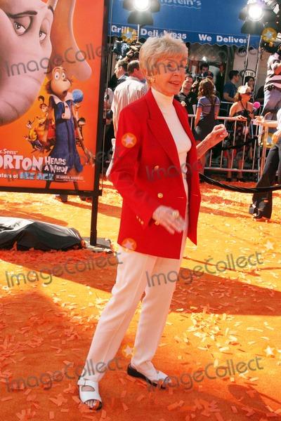 Audrey Geisel Photo - Dr. Seuss' Horton Hears a Who! World Premiere Mann Village Theatre, Westwood, CA 03/08/08 Audrey Geisel Photo: Clinton H. Wallace-photomundo-Globe Photos Inc