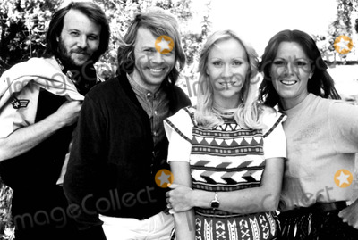 ABBA, Agnetha Faltskog, Anni Frid Lyngstad, Anni-Frid Lyngstad, Annifrid Lyngstad, Bjorn Ulvaeus, Bennie Anderson Photo - Benny Anderson, Bjorn Ulvaeus, Agnetha Faltskog and Anni-frid Lyngstad of Abba 1978 Smp/Globe Photos, Inc.