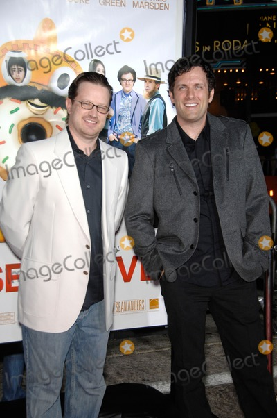 John Morris, Sean Anders Photo - John Morris and Sean Anders During the Premiere of the Movie From Summit Entertainment Sex Drive, Held at the Mann Village Theatre, on October 15, 2008, in Los Angeles. Photo: Michael Germana - Globe Photos
