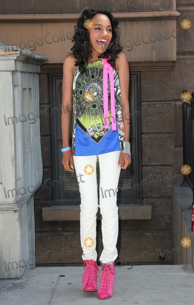 """China McClain, China Anne Photo - China Anne Mcclain attends Variety""""s 6th Annual Power of Youth Event on 15th September 2012,paramount Studios,los Angeles, Ca.usa. Photo: Tleopold/Globephotos"""