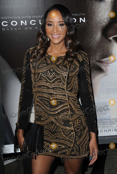 "Azja Pryor Photo - Azja Pryor attending the Los Angeles Premiere of ""Concussion"" Held at the Regency Village Theater in Westwood, California on November 23, 2015 Photo by: David Longendyke-Globe Photos Inc."