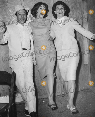 Adolph Green, Betty Comden, Carol Burnett Photo - Adolph Green, Carol Burnett and Betty Comden. Globe Photos, Inc. Obit