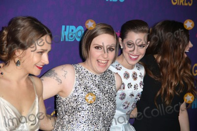 """Allison Williams, Lena Dunham, Zosia Mamet, Jemima Kirke Photo - The New York Premiere of the Third Season of """"Girls"""" Presented by Hbo Jazz at Lincoln Center, the Time Warner Center, NYC January 6, 2014 Photos by Sonia Moskowitz, Globe Photos Inc 2014 Jemima Kirke, Lena Dunham, Allison Williams, Zosia Mamet"""
