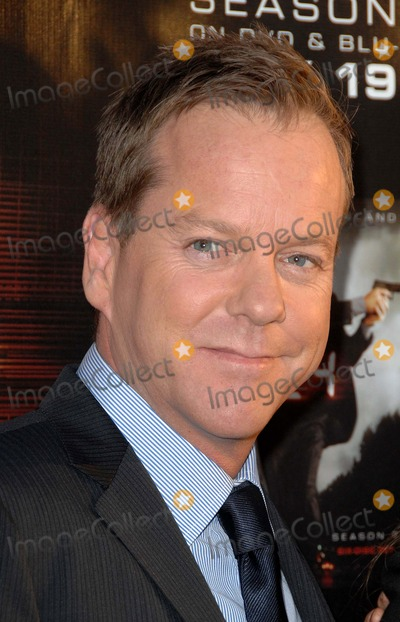 "Kiefer Sutherland Photo - ""24"" Season Seven Finale and Dvd Release Party at the Wadsworth Theater in Los Angeles, CA 05-12-2009 Photo by James Diddick-Globe Photos @ 2009 Kiefer Sutherland"
