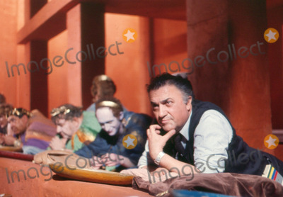 Photo - Frederico Fellini Directs Satyricon Photo: Bob Dear/Globe Photos Inc