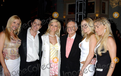 Hugh Hefner, Holly Madison, Jonathan Baker, Victoria Fuller, Hollies Photo - K36068MS