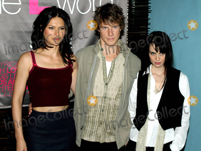 Photos And Pictures Karina Lombard Eric Madius And Mia Kirshner The L Word Showtimes New One Hour Drama Orginal Series Premiere At The Blue Fin