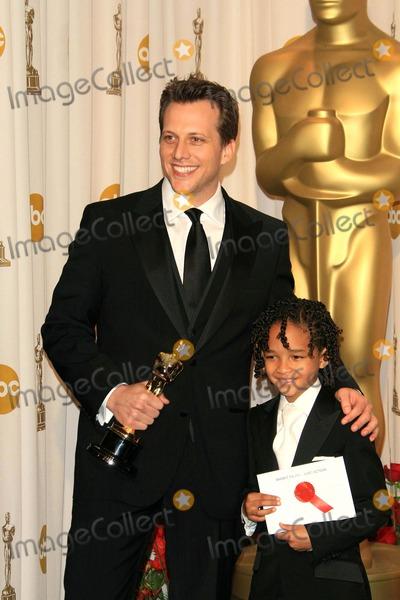 Ari Sandel, Jaden Smith Photo - the 79 Academy Awards / Oscars (Press Room) Held at the Kodak Theatre, Hollywood, CA 02-25-2007 Photo by Nina Prommer-Globe Photos 2007 Ari Sandel and Jaden Smith