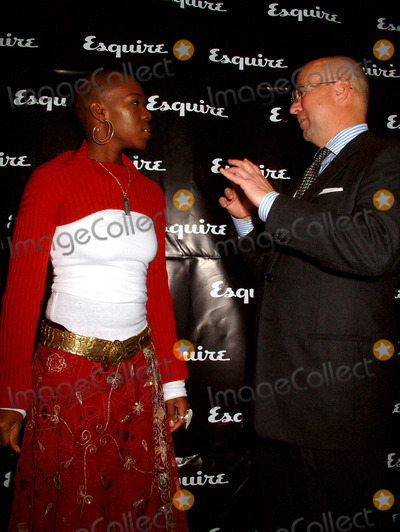 David Granger, India.Arie, India Arie, Katie Couric, ARY GRANGER Photo - Esquire and Katie Couric Host Charity Fundraiser at the Esquire Apartment at Trump World Tower , New York City. 10/16/2003 Photo By:mitchell Levy/rangefinders/Globe Photos, Inc 2003 India Arie and David Granger