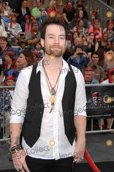 David Cook, Walt Disney Photo - David Cook During the Premiere of the New Movie From Walt Disney Pictures Pirates of the Caribbean: on Stranger Tides, Held at Disneyland, on May 7, 2011, in Anaheim, california.