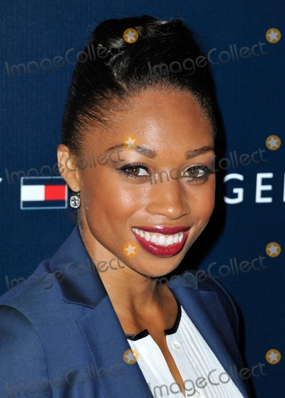 Allyson Felix, Tommy Hilfiger Photo - Allyson Felix attending Tommy Hilfiger West Coast Flagship Grand Opening Event Held at Tommy Hilfiger in West Hollywood, California on February 13, 2013 Photo by: D. Long- Globe Photos Inc.