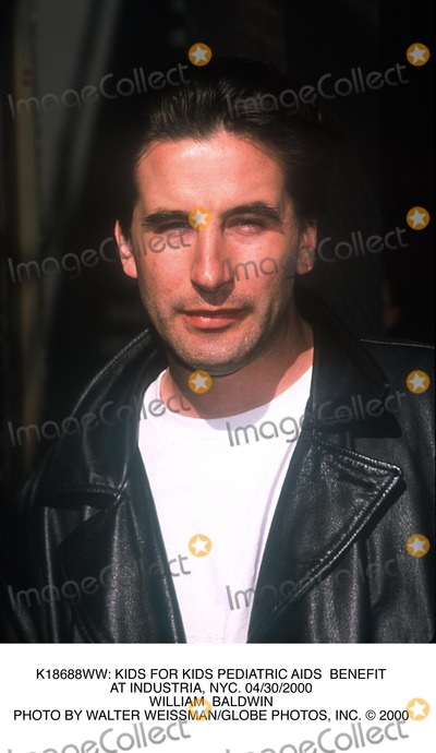William Baldwin Photo - : Kids For Kids Pediatric Aids Benefit at Industria, NYC. 04/30/2000 William Baldwin Photo by Walter Weissman/Globe Photos, Inc.