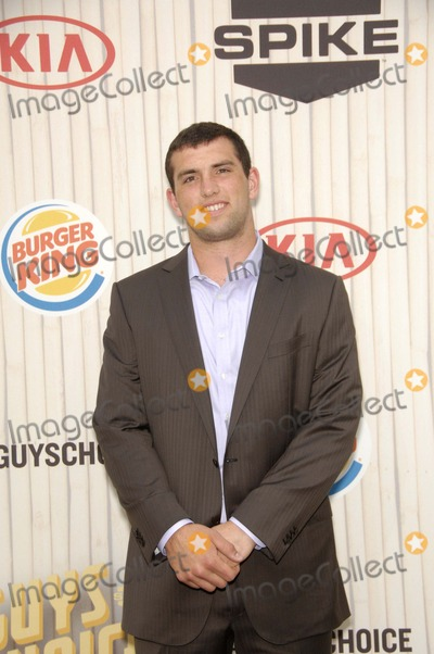 Andrew Luck Photo - Andrew Luck During Spike Tv's Guys Choice 2013, Held at Sony Picture Studios, on June 8, 2013, in Culver City, California. Photo: Michael Germana / Superstar Images - Globe Photos