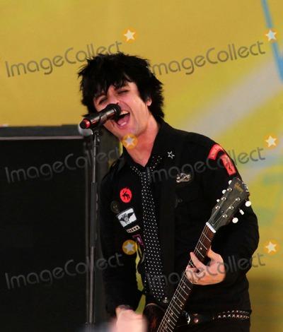 Billie Joe Armstrong, Green Day, Billy Joe, Joe Corré Photo - Green Day Performs on Abc's Good Morning America Concert Series Central Park, New York City 05-22-2009 Photo by Ken Babolcsay-ipol-Globe Photos Billie Joe Armstrong