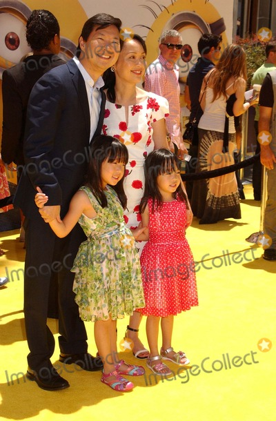 Photos and Pictures - Ken Jeong & Family Attend the ...