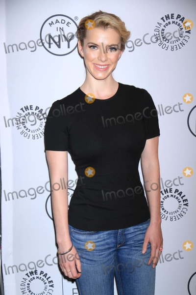 Betty Gilpin Photo - Betty Gilpin at Paleyfest:made in Ny''nurse Jackie'' at the Paley Center For Media 10-6-2013 Photo by John Barrett/Globe Photos