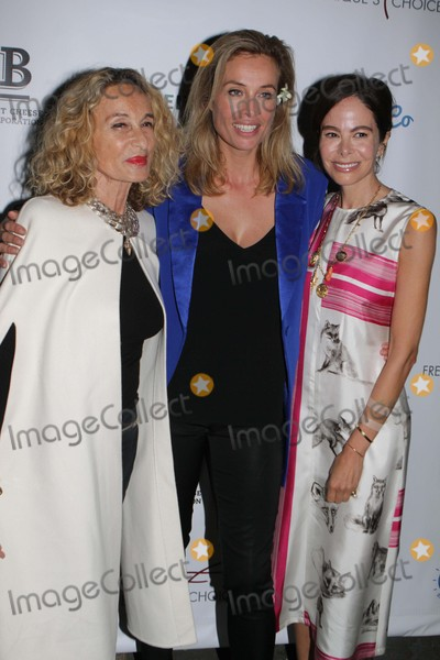 Ann Dexter, Ann Dexter Jones, Ann Dexter-Jones, Anne Dexter Jones, Frederique Van Der Wal Photo - Anne Dexter-jones,frederique Van Der Wal,allison Sarofilm Frederique Launches Her Life Style and Flower Brand at Gallow Green Rooftop 9-29-