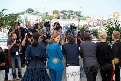 Amira Casar, Lea Seydoux, Aymeline Valade Photo - Lea Seydoux, Amira Casar and Aymeline Valade Saint-laurent Photo Call Cannes Film Festival 2014 Cannes, France May 17, 2014 Roger Harvey