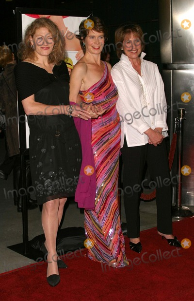 """Celia Imrie, Geraldine James, Penelope Wilton Photo - Afi Film Festival Opening and Premiere of """"Calendar Girls"""" at Afi Fest 2003 at the Cinerama Dome in Hollywood, CA - 11/06/2003 - Photo by Kathryn Indiek / Globe Photos Inc. 2003 - Geraldine James, Celia Imrie and Penelope Wilton"""