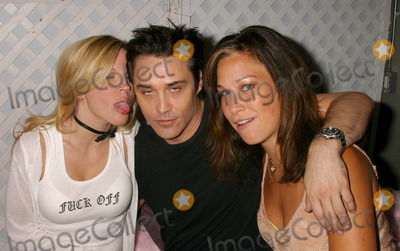 Vincent Young, Heidi Blair, Renee Sloan Photo - Bench Warmer Trading Cards Series 3 Release Party at Bliss, West Hollywood, CA 05/13/04 Photo by Clinton.h.wallace/ipol/Globe Photos Inc.2004 Heidi Blair, Vincent Young and Renee Sloan