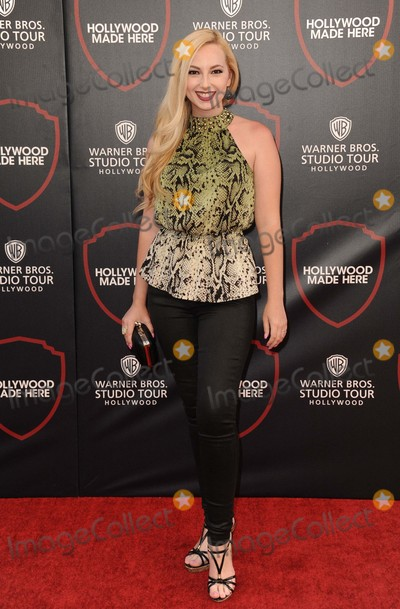 Sounds, Alexis Nolan Photo - Alexis Nolan attending the Red Carpet For Warner Bros. Studio Tour Hollywoods New 25,000 Sq. Ft. Interactive Sound Stage Held at Warner Bros. Studios in Los Angeles, California on July 14, 2015 Photo by: D. Long- Globe Photos Inc.