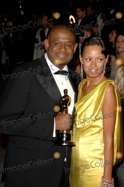 Keisha Whitaker, Forest Whitaker Photo - 79th Annual Academy - Oscar Awards Vanity Fair Party at Morton's , Los Angeles CA. 02-25-2007 Photo by Dave Longendyke-Globe Photos, Inc. 2007 Forest Whitaker Keisha Whitaker