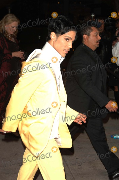 Prince Photo - 79th Annual Academy - Oscar Awards Vanity Fair Party at Morton's , Los Angeles CA. 02-25-2007 Photo by Dave Longendyke-Globe Photos, Inc. 2007 Prince