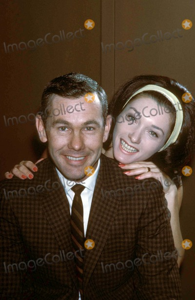 Johnny Carson Photo - Johnny and Joanne Carson Photo by Jack Stager-Globe Photos Z6228 1963
