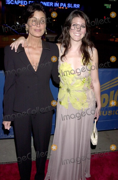 "AJ Azzarto, Tina Sinatra Photo - Gala Opening Night For ""Sinatra: His Voice. His World. His Way."" Radio City Music Hall, New York City. Photo : John Krondes / Globe Photos Inc 2003 10/14/2003 Tina Sinatra and Aj Azzarto"